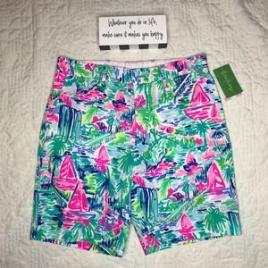 🆕 Lilly Pulitzer Men's Beaumont Shorts 30R